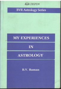 My Experiences in astrology