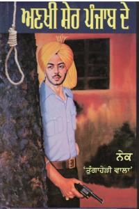 Ankhi Sher Punjab De